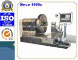 Qualität horizontale CNC-drehendrehbank mit 3 Klemme-Kiefern für Flansch (CK61200)