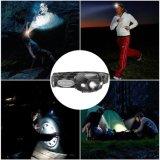 La torche Ipx6 rechargeable de tête de phares de la pêche LED superbe imperméabilisent