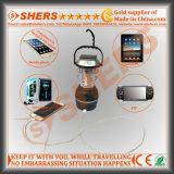 Luz solar recargable del LED con la linterna 1W, dínamo, USB (SH-1992A)
