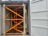 Grúa de los kits de la tapa del edificio de la construcción del Ce Qtz80 5613 8t