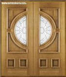 Französische Tür-Glastür/hölzerne Glastür-Innentür/Außentür