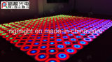 Efeito fantástico dinâmico colorido do diodo emissor de luz Dance Floor de Rigeba para o estágio