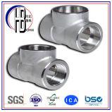 Te del acero inoxidable ANSI16.3 de la instalación de tuberías del molde