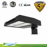DlcはLEDの商業照明駐車場ライトShoebox 150Wを承認した