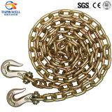 Remorquer galvanisé amarrent la boucle à chaînes de delta d'attache
