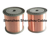 Tipo desencapado CCAM do fio da liga do CCA 0.15mm