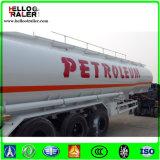 Remorque de pétrolier de l'essieu 42000L du prix bas 3 (compartiment facultatif)