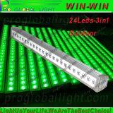 Luz da lavagem da parede do diodo emissor de luz do RGB DMX