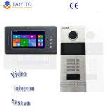 Видеофон провода виллы IP Tyt для франтовской домашней системы