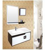 Cabinet de salle de bains en bois plein (KD-785)