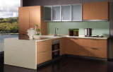 Nieuwe Materiële Hoge Glanzende Keukenkast Laquer (FY7865)