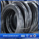 Buen alambre destemplado negro del lazo de la calidad 16gax3.5lbs