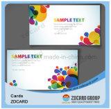 Farbenreiche Drucken Plastik-Belüftung-Geschenk-Karte frankierte Zahlungs-Karten