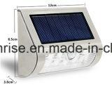La pared solar externa enciende la linterna solar al aire libre de la pared de las luces del sensor del LED para la venta