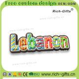 Aimants personnalisés Liban (RC-LN) de réfrigérateur de PVC de souvenir de cadeaux de promotion de dessin animé