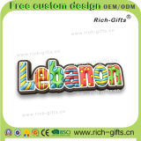 Kundenspezifische Karikatur-Förderung-Geschenk-Andenken Belüftung-Kühlraum-Magneten der Libanon (RC-LN)