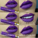 O melhor do batom Matte líquido de Lisptick das cores do Plash 14 de Las líquido Matte de venda Lipgloss de Lipgloss