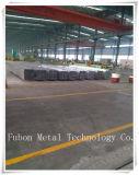 Quadrado de alumínio da extrusão do ISO 9001/redondo anodizado Customzied/plano/câmara de ar oval