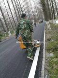 Machine privée d'air de marquage routier de poussée de bonne qualité de main