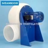 8 pulgadas del plástico de ventilador centrífugo anticorrosión de los PP para la ventilación del laboratorio