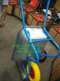 Rotella solida della gomma piuma dell'unità di elaborazione, gomma solida 4.00-8 della riga della barra di rotella dell'unità di elaborazione
