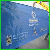 Exhibición al aire libre de la bandera de la cerca de la bandera de la flexión del encerado del PVC 2015