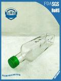 transparente bleifreie quadratische Glasflasche des Olivenöl-250ml
