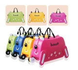 Cute Kids Trolley Bag Dog Shape Kid Toy Viagem Bagagem Bbl19