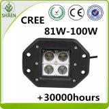 16W irrigano l'indicatore luminoso del lavoro del CREE LED del supporto