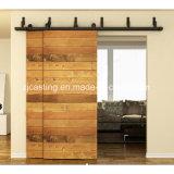 Двойное оборудование двери рельсовой системы двери рядка деревянное (LS-SDU 6212)