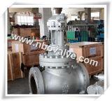 "Wcb/Lf2/CF8 industriel Globe Valve pour High Pressure Plant (8 "" - 900LB)"