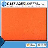 Lajes solares artificiais da pedra de quartzo da cor diferente pura da cor