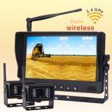 Sistema sin hilos de la cámara con los montajes al alimentador o a Traile