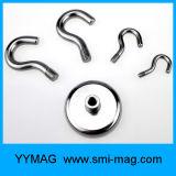 Aimants magnétiques de cuvette de néodyme d'Assemblée de crochet/bac