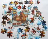напечатанная 3D игрушка головоломки Утюг-Человека