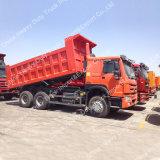 수송 광업에 사용되는 Sinotruk HOWO LHD 6X4 덤프 트럭 팁 주는 사람 트럭