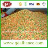 언 IQF는 완두, 옥수수 당근, 커트 콩과 야채를 섞었다