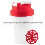 Agitatore della proteina della bottiglia di acqua con la tazza di memoria delle pillole