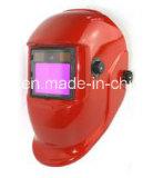 Casco della saldatura di TIG/mascherina di scurimento automatica alimentata solare della saldatura/casco stridente