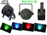 4 * 8W RGBWY + UV LED Flat Par puede hasta luces