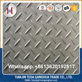 좋은 가격 AISI304 316L 430 201 Checkered 스테인리스 격판덮개