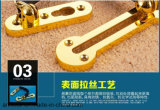 De Keten van de deur, het Bevestigingsmiddel van de Deur van de Veiligheid, Hotlink Bescherming, het Mechanisme van de Bout van de Deur, de Hardware van het Meubilair, Al268