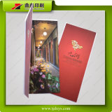 Impression promotionnelle de brochure de centre de loisir de message de pied de Jiuhe