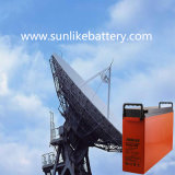 12V100ah深いサイクルの前部ターミナル電気通信のゲル電池3yearsの保証