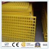 El panel soldado cubierto PVC caliente de la cerca del acoplamiento de alambre de las ventas