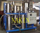 Planta de filtrado del aceite lubricante del vacío con el sistema gradual de la filtración (TYA)