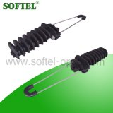 Keilförmige Spannkraft-Schelle für Faser-Energien-Kabel
