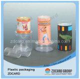 De douane drukte Duidelijke Transparante Plastic Verpakkende Doos af