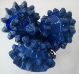 Diente de acero tricónico 24 dígitos binarios de roca de la pulgada para el receptor de papel de agua