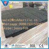 環境に優しい屋内耐久の体操のゴム製床のマットの/Rubberの運動場のタイル